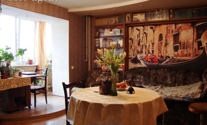 Купить 3-комнатную квартиру Коломна ул. Дзержинского 4/1 о/п 70м² 4/14 эт.