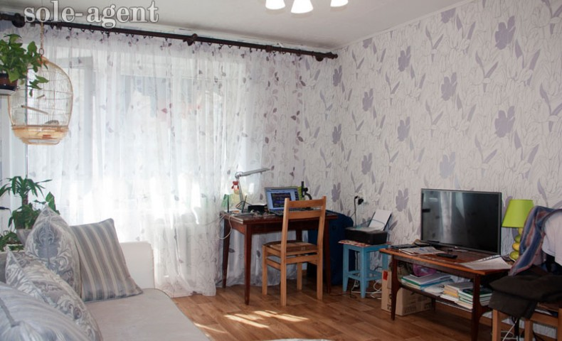 Купить 1-комнатную квартиру Коломна ул. Гагарина 11 о/п 33.6м² 1/5 эт.