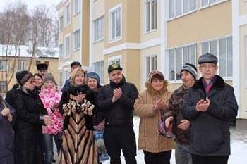 Коломенцы получили новые квартиры